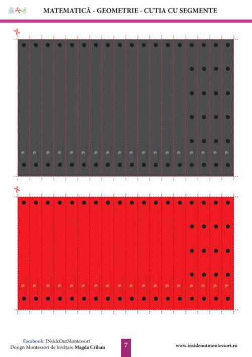 Cutia cu segmente