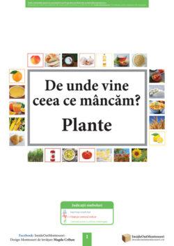 Mancare Plante