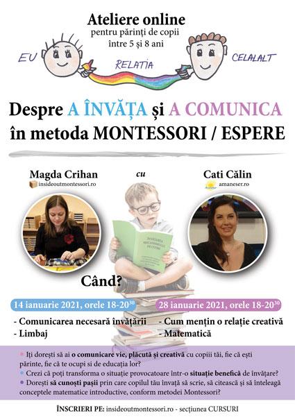 Curs Espere - Montessori