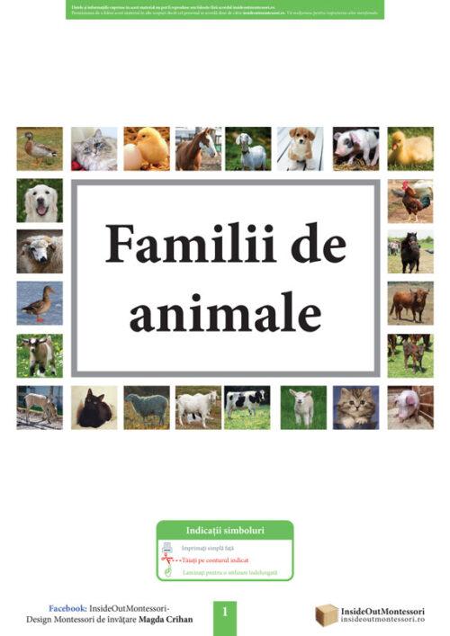 Familii de animale