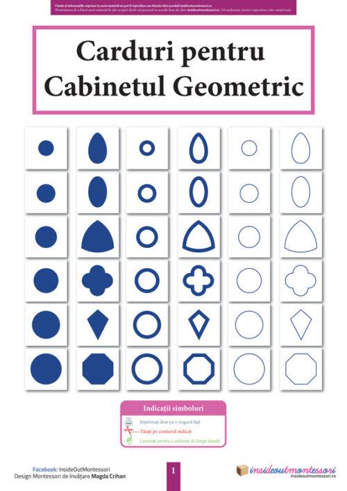 Carduri Cabinetul Geometric