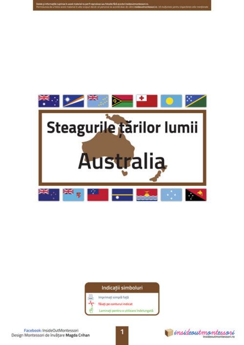 Steagurile tarilor - Australia