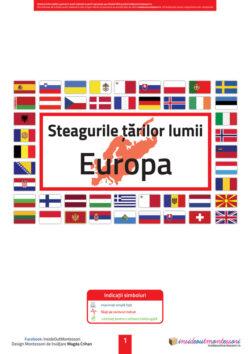 Steagurile lumii - Europa