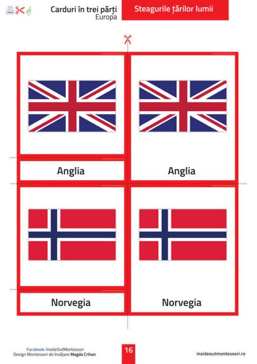 Steagurile tarilor - Europa