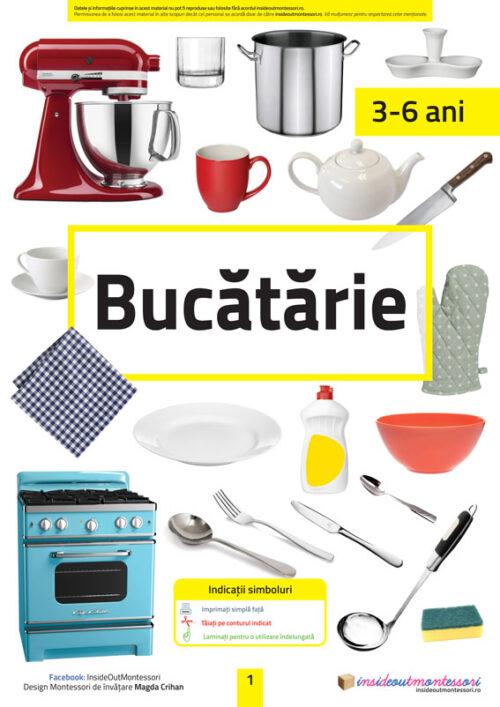 Bucatarie - 3-6 ani